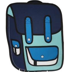 Ridge53 2D Small Backpack Aqua Navy Blue White