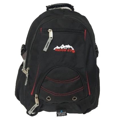 Ridge53 Bolton Backpack Black Red