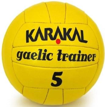 karakal gaelic trainer yellow 5