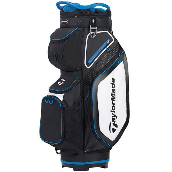 cart bag black blue