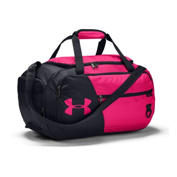 duffel black pink