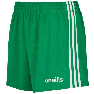 mourne gaelic shorts green wht 1